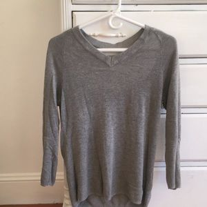 Nasty gal sweater with open back